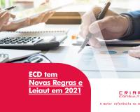 ECD Tem Novas Regras em 2021