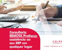Consultoria REMOTA Protheus: Assistência ao seu ERP em qualquer lugar