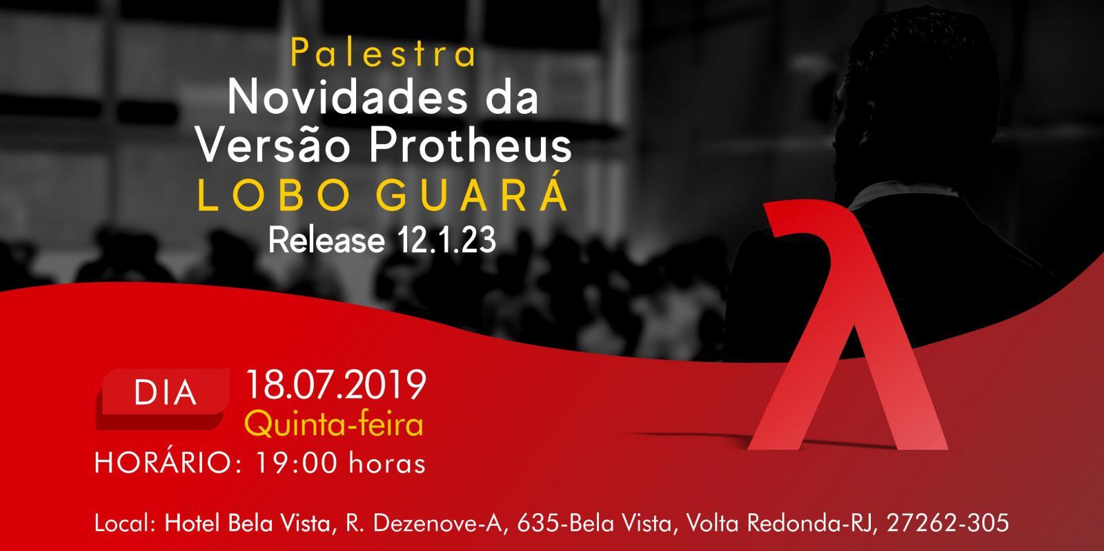 Palestra Novidades da Versão Protheus Lobo Guará